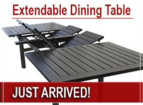 Outdoor Extendable Dining Table