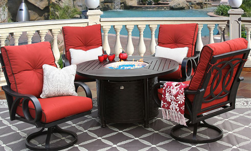 fire table sets